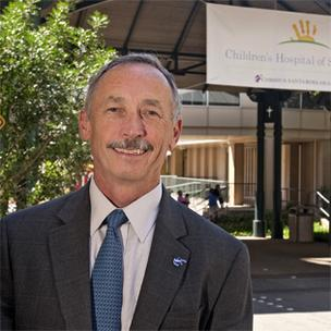 Patrick Carrier, president and CEO of Christus Santa Rosa Health System