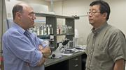 """(L to R) Dr. Steven Davis and Dr. Xiao-Dong Chen are the founders of StemBioSys, which is raising funds to develop a """"third way"""" of making stem cells for medical therapy."""