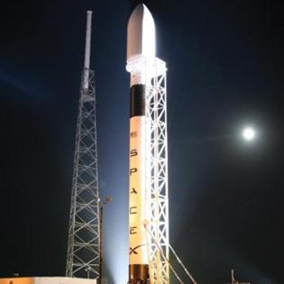 SpaceX has one of several launches scheduled at the Space Coast in 2013.