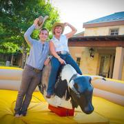 Mechanical bull rides were available for an event created by Goen South