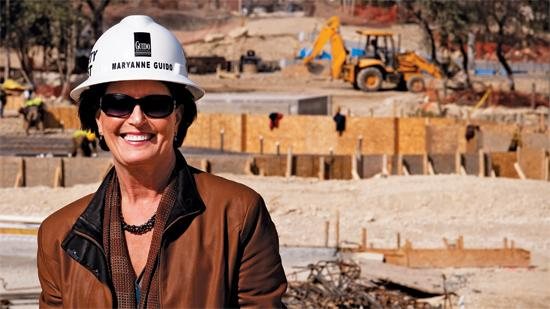 Maryanne Guido is the CEO of Guido Brothers Construction.