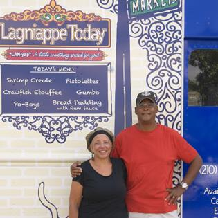 Suzanne Jackson, co-owner of Lagniappe Today