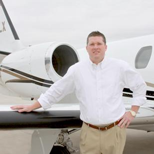 Jason Leavelle, president of Express Jets, says buying airplanes is more complicated than people think.