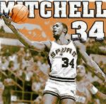 Former Spur Mike Mitchell was big on and off the court