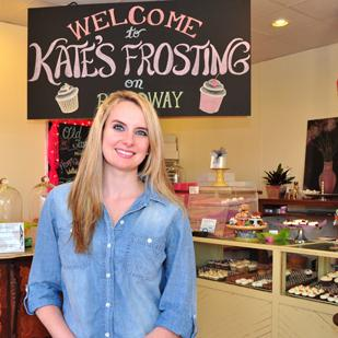 Kate-Frost Feild followed her heart and opened a cupcake shop in 2007. She now has two locations in San Antonio.