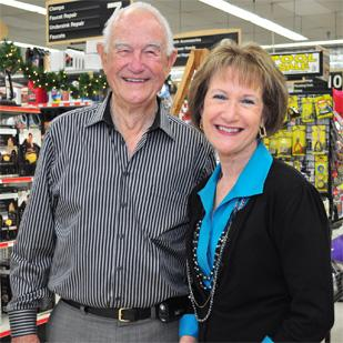 Hardware is all in the family with Johnnie Chuoke Jr. and daughter Trudy LeSage at the helm of Johnnie Chuoke's Home and Hardware.