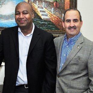 The executive team at GenEon Technologies includes partners (L-R) Rodolfo Ramirez, Remigio Benavides, Syd Williams, John Shanahan and Noe Ramirez.