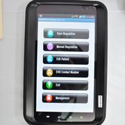 eHealthScreenings' award-winning mobile technology that sends health data via a wireless network in real time.