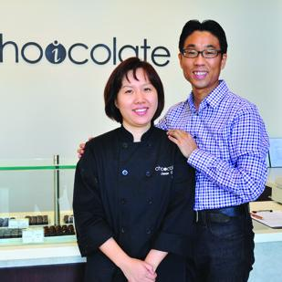 Choicolate Artisan Chocolates owners Jamie Choi and Young Yang turned Choi's passion for baking into a one-of-a-kind confections shop.