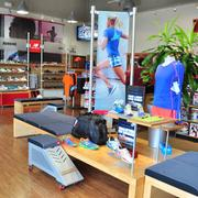 Rob Kaufman's three New Balance stores feature hundreds of styles in a variety of sizes.