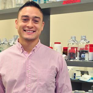 Daniel Mendez helped found Invictus Medical while a student at UTSA and is now helping take the company's first product to market.