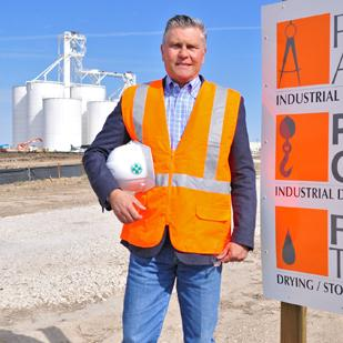Robert Ober says his company's construction of a trans-load facility for U.S. Silica Holdings Inc. in San Antonio is giving the firm more inroads in the oil-and-gas market.