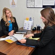 Burnett Specialists work with clients to help them find positions.