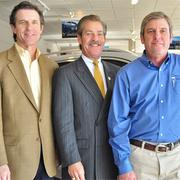 (L to R): Cavender brothers Bobby, Billy and Stuart are making multimillion-dollar investments in the family business.