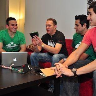 Participants in the TechStars program