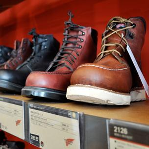 Red Wing won praise for its comfort guarantee.