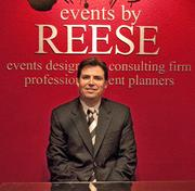 Reese says the events handled by his company are all about the clients and what they want.