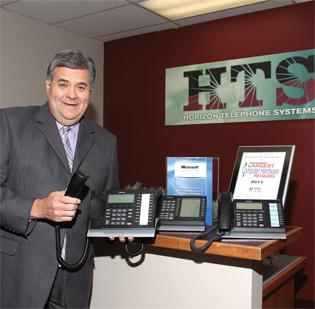 Rey Salinas heads up HTS Voice and Data Systems, which has evolved with technology over its 25-year history.