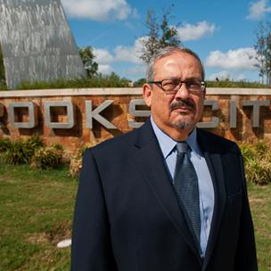 Roland Lozano, interim president and CEO of the Brooks Development Authority, says Brooks City-Base could see more housing development.