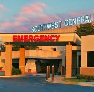 San Antonio's Southwest General Hospital was developed in 1979.