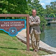 The San Antonio River Authority's Steve Graham says improvements to the waterway will create new economic opportunities.