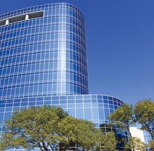 Tesoro Corp.'s headquarters in San Antonio. The company's financial outlook has been upgraded by research firm Zacks.com.