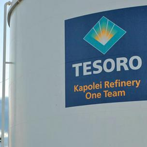 Shipping records show that Tesoro Corp. has booked a vessel to buy fuel from South Korea.
