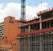 Work continues on University Health System's major expansion.