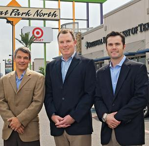 (L to R) Lex Lutto, Michael Jersin and Warren Richardson are bringing their retail experience to bear at REATA.