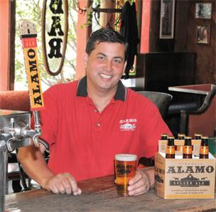 Eugene Simor, owner of Alamo Beer Co., has been visiting with bankers about financing a brewery on San Antonio's East Side.