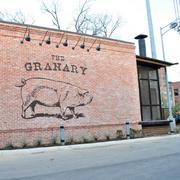 Exterior of The Granary 'Cue & Brew, which serves grown-up barbecue with craft beer.