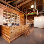 """The Sweet Leaf Tea headquarters in Austin was designed by Kristin Wiese Hefty. The office was named one of the """"Cool Office Spaces"""" by Inc. magazine."""