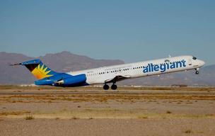 Allegiant Air will offer twice-weekly service between Rickenbacker International Airport and Orlando Sanford International Airport starting in October.