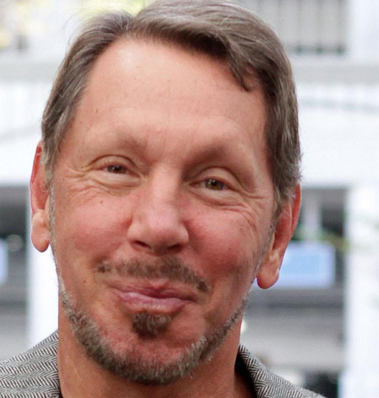 Larry Ellison once again is Silicon Valley's top earner among CEOs.
