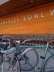 The new store has lots of bike parking.
