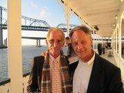 Attorney Bud Greer (left), and architect Dana Merker.