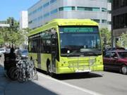 The Broadway Shuttle, running since 2010, connects Jack London Square to downtown, Uptown and BART.