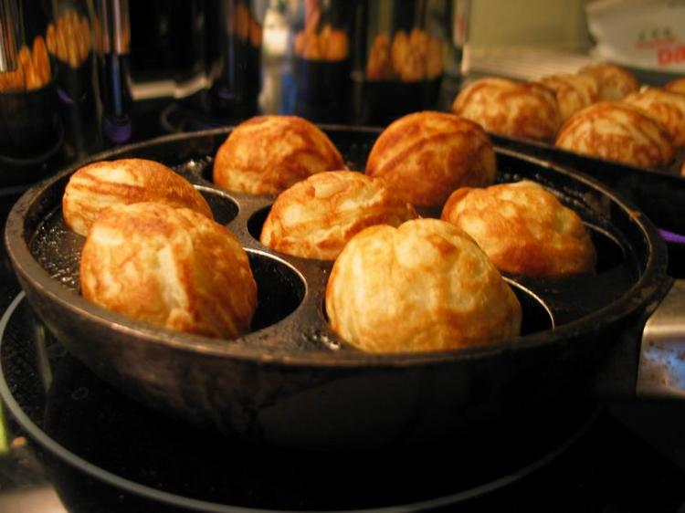 Aebleskiver, or traditional Danish Christmas pancakes, aren't quite the same as our Danish pastries. But health care tech gurus from the Bay Area and Silicon Valley in particular are increasingly likely to try them, on visits to Denmark.