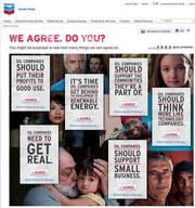 The official Chevron ad site.