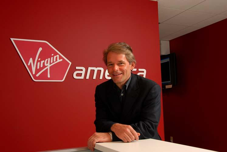 Virgin America CEO David Cush.