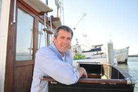 John Scannell wants to start water taxi service on San Francisco Bay.