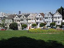 San Francisco Victorian homes