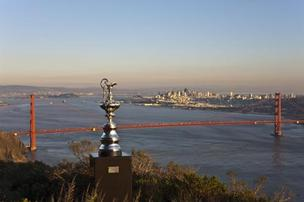As many as 14 teams will compete for the Auld Mug, the trophy of the America's Cup competition.