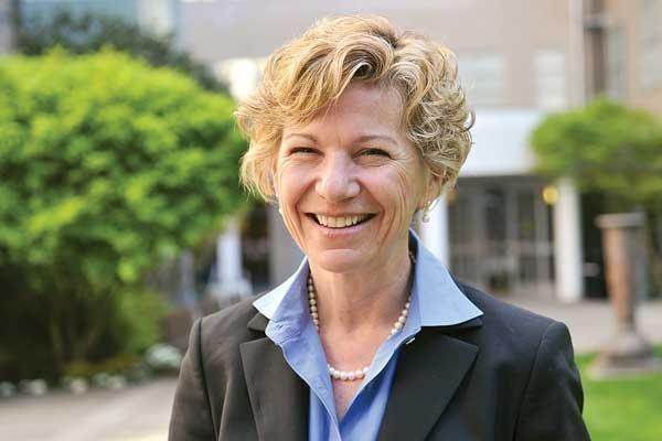 UCSF Chancellor Susan Desmond-Hellmann.