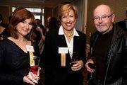 Eve Hinman (Hinman Consulting Engineers), Shelby McNamara (Danville Area Chamber of Commerce), Vince McNamara (McNamara Steak and Chop House - Dublin).