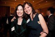 Kathleen Thurmond (National Association of Women Business Owners, SF), Mia Victoriazza (NAWBO, Guardian Life Insurance).