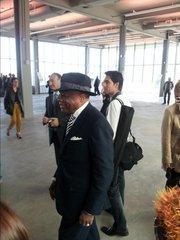 Willie 'Da Mayor' Brown makes the scene.
