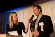 Trulia CEO Pete Flint accepts his Forty Under 40 award March 7.