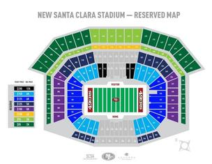Seat licenses for the 49ers' new stadium in Santa Clara are now on sale.