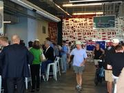 The America's Cup bar fills up for second-to-last day